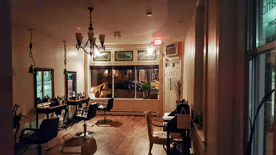 DryLand Hair Salon in Baltimore Night