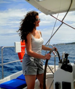 Beachy Waves on the Helm